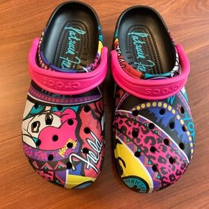 Limited Edition Patricia Field Crocs